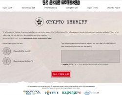 Crypto-Sheriff (Screenshot: silicon.de)