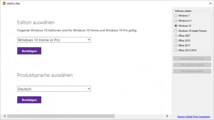 Windows-10-ISO-Download (Screenshot: ZDNet.de)