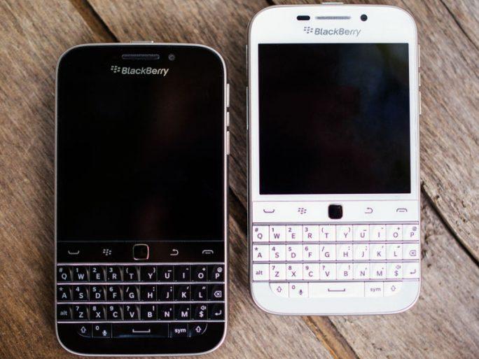 Mit dem Classic stellt Blackberry das letzte Gerät mit seinem typischen Design ein (Bild: Blackberry).