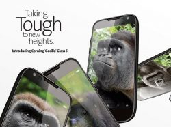 Corning Gorilla Glass 5 (Bild: Corning)
