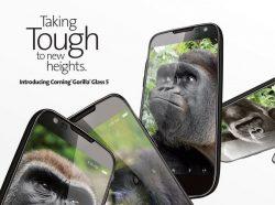 Corning Gorilla Glass 5 (Bild: Corning)