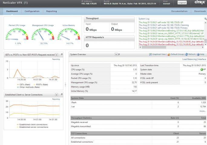 VPN-Lösungen für Unternehmen im Überblick: NetScaler bietet neben anderen Funktionen, auch die Verbindung über VPN (Screenshot: Thomas Joos).