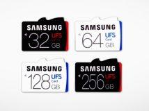 Samsung stellt UFS-Speicherkarten mit Leseperformance von 530 MByte/s vor