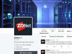 Der blaue Haken neben dem Nutzernamen signalisiert, dass es sich um ein verifiziertes Konto handelt (Screenshot: ZDNet.de).
