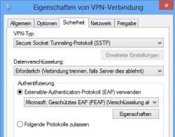 VPN-Lösungen für Unternehmen im Überblick: Auch mit Windows-Servern lassen sich VPN-Server aufbauen (Screenshot: Thomas Joos).