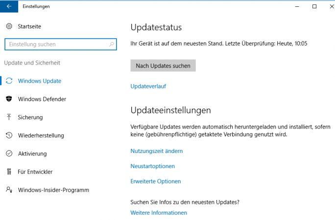 Das Anniversary Update bietet eine neue Oberfläche in den Einstellungen und im Startmenü (Screenshot: Thomas Joos).