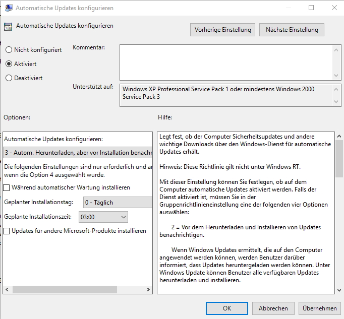 Windows 10 lässt sich optimal über WSUS mit Updates versorgen (Screenshots: Thomas Joos).