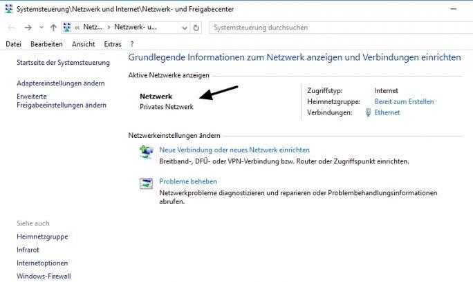 Verbindungen in öffentlichen Hotspots sollten nicht unbedingt als private Netzwerke konfiguriert werden (Screenshot: Thomas Joos).