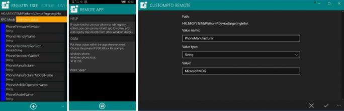CustomPFD: Registry-Anpassung von Windows 10 aus (Bild: ZDNet.de)