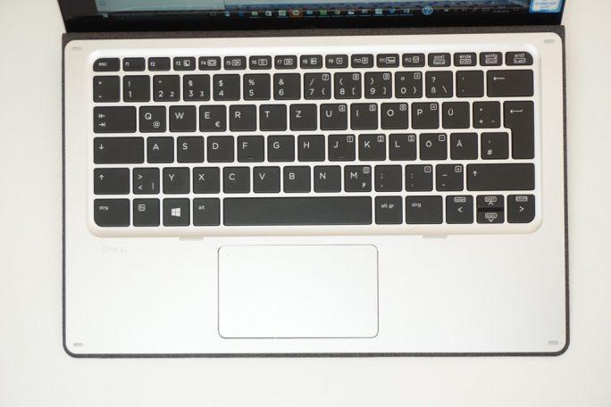 HP Elite x2 Reisetastatur (Bild: ZDNet)