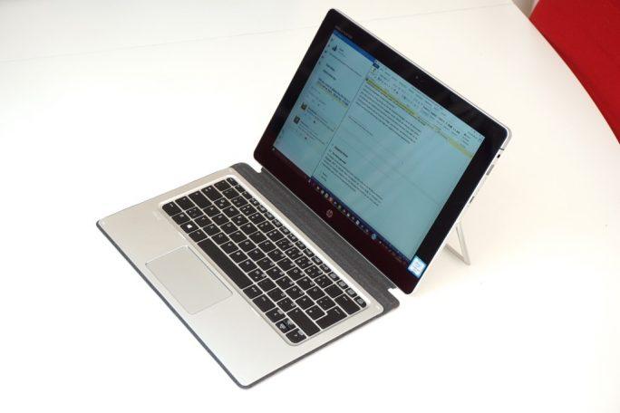 HP Elite x2 mit Reisetastatur (Bild: ZDNet.de)