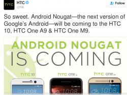 HTC kündigt Updates an (Bild HTC).