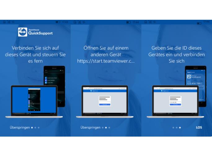 Der Zugriff auf das Windows Phone ist von jedem Computer aus möglich (Screenshot: ZDNet.de).