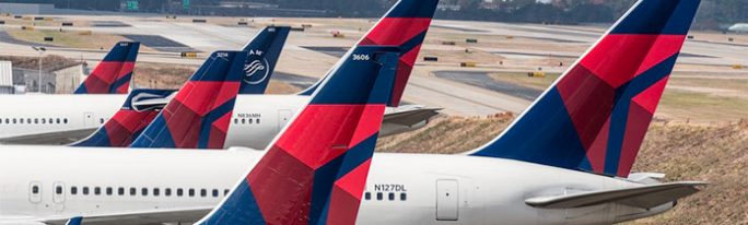 Flugzeuge am Boden (Bild: Delta)