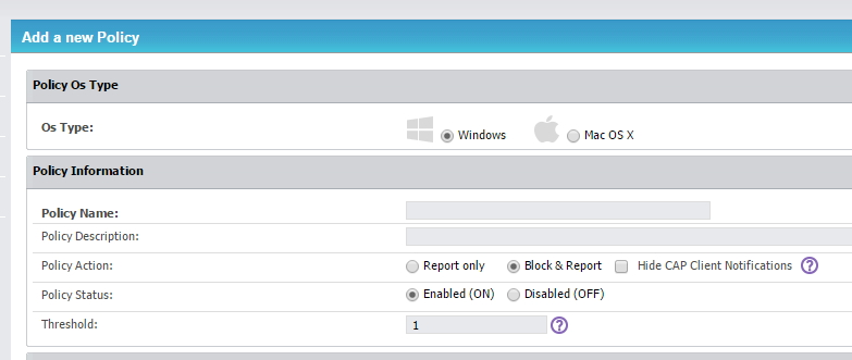 Über Richtlinien lässt sich der Umgang mit heiklen Dateien, auch basierend auf dem Betriebssystem der Clients regeln (Screenshot: Thomas Joos).