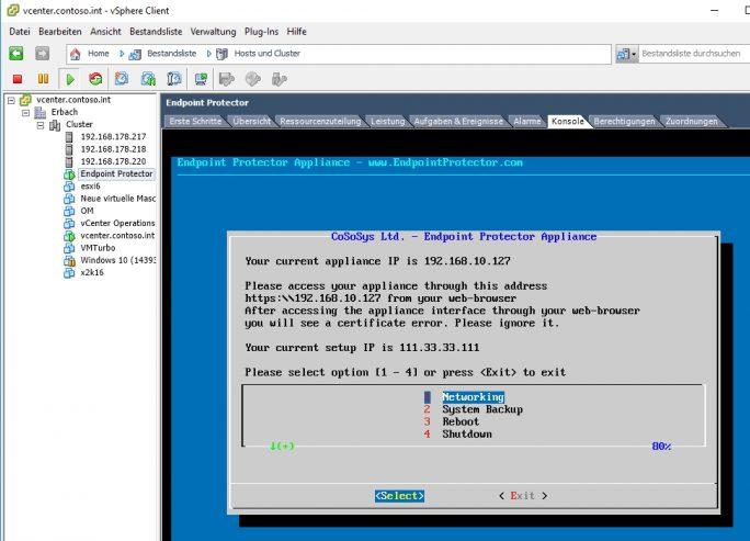 Unternehmen können Endpoint Protector als virtuelle oder als Hardware-Appliance im Netzwerk integrieren (Screenshot: Thomas Joos).