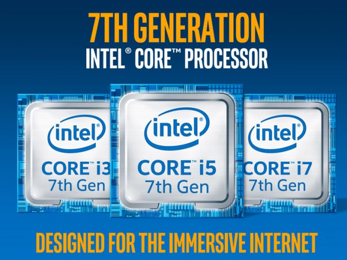 Intel 7. Generation Core-Prozessoren (Screenshot: ZDNet.de)