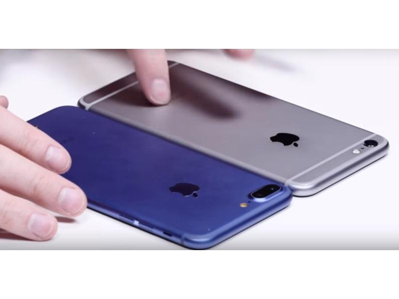 iphone 7 plus kommt angeblich mit zwei lautsprechern und in blau. Black Bedroom Furniture Sets. Home Design Ideas