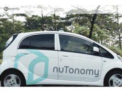 nuTonomy-Auto ohne Fahrer (Screenshot: ZDNet)