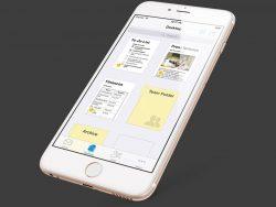 Die Quip-App auf dem iPhone (Bild: Quip).