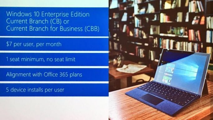 Windows 10 Enterprise E3 (Bild: Microsoft)