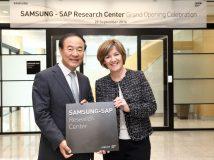 Samsung und SAP eröffnen Forschungszentrum