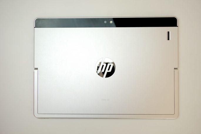 Die Rückseite des HP Elite x2 (Bild: ZDNet.de)