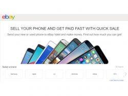 Quick Sale vereinfacht den verkauf von Smartphones bei Ebay (Screenshot: ZDNet)