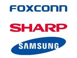 Nach der Übernahme von Sharp durch Foxconn stößt Samsung seine Anteile ab (Bild: ZDNet).