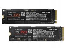 Samsung stellt M.2-SSDs 960 Pro und 960 Evo vor