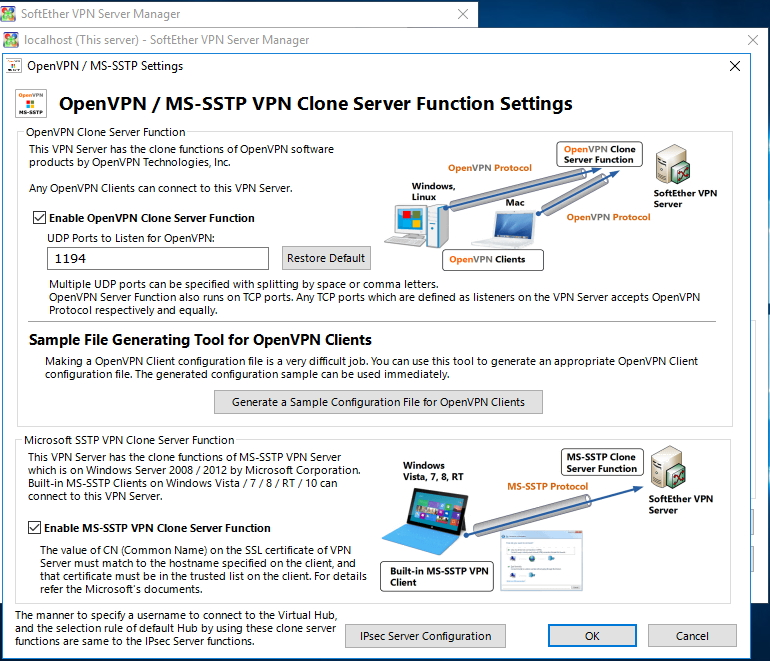 Configure vpn windows server 2008 step step