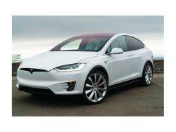 Model X; der Radar sitzt im Stoßdämpfer (Bild: Tesla)