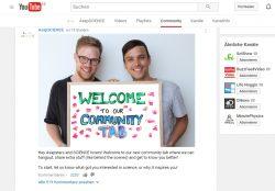 Der Youtube-Channel AsapScience begrüßt seine Community (Screenshot: ZDNet.de).