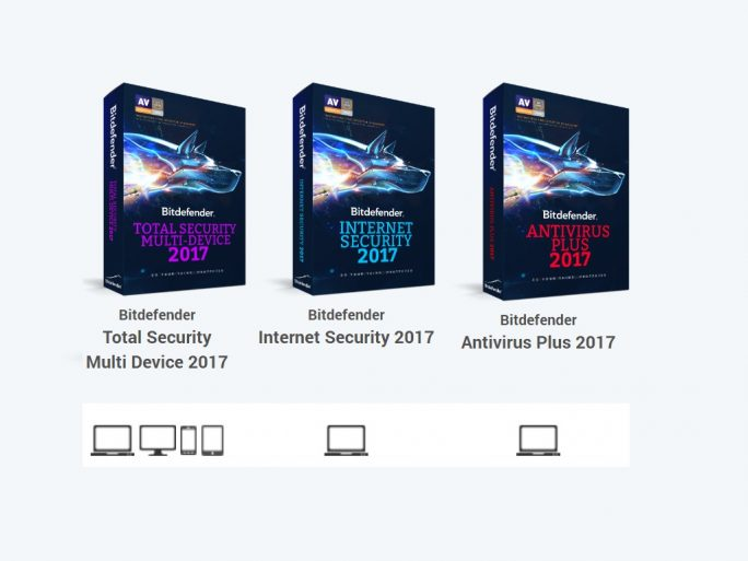 Bitdefender 2017 (Screenshot: ZDNet.de)