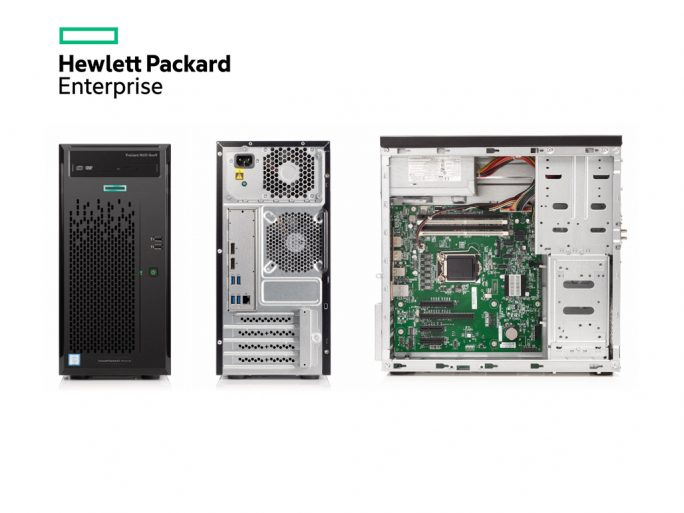 HPE ProLiant ML10 Gen9 (Bild: HPE)
