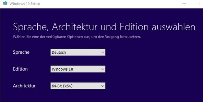 Media Creation Tool: Windows-10-ISO herunterladen (Bild: Thomas Joos)