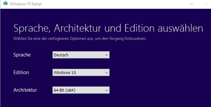windows 10 umstellen auf deutsch