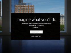 Microsoft lädt einer Presseveranstaltung am 26. Oktober ein (Bild: Microsoft)