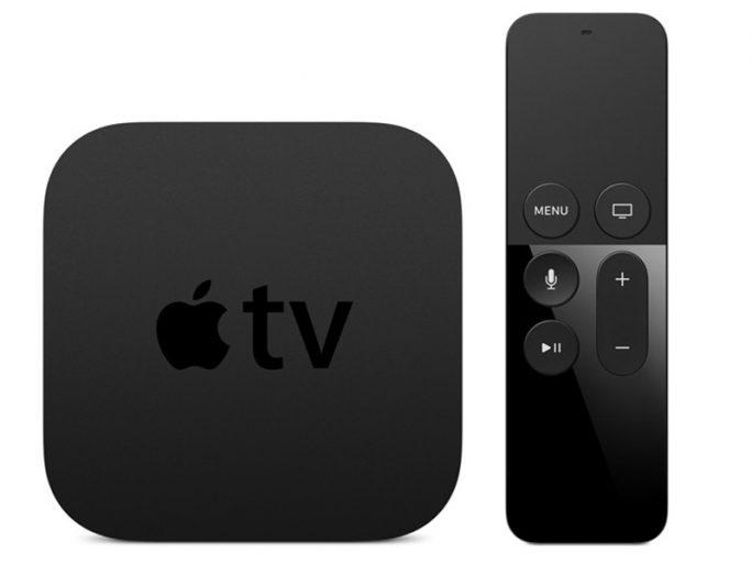 Apple TV mit Siri Remote (Bild: Apple)