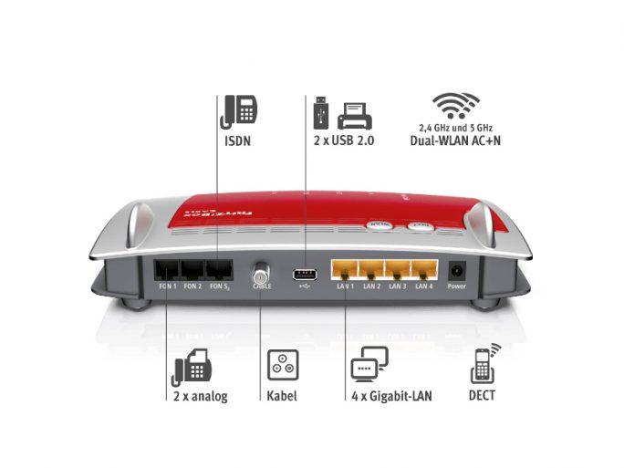 AVM Fritzbox 6490 Cable (Screenshot: ZDNet.de)