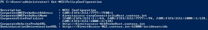 Überprüfen von DirectAccess nach der Einrichtung auf dem Client (Screenshot: Thomas Joos).