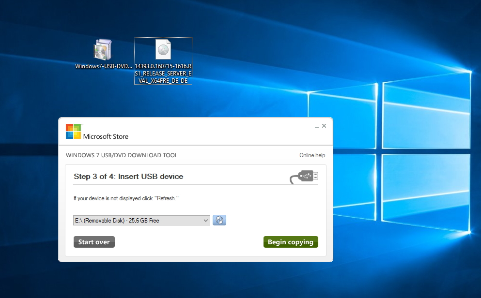 Windows Server 2016 mit USB-Stick installieren | ZDNet de