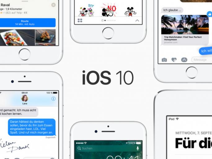 iOS 10 (Bild: Apple)