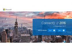 Connect 2016 (Bild: Microsoft)