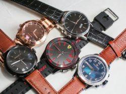 Uhren von Movado mit HP-Technik (Bild: Sarah Tew, CNET)