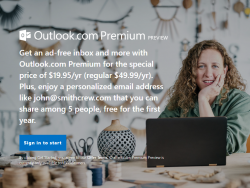 Outlook.com Premium (Screenshot: ZDNet.de)