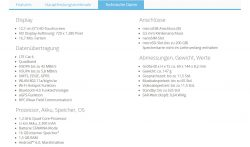 Sony Xperia E5 bei Aldi Nord (Screenshot: ZDNet.de)