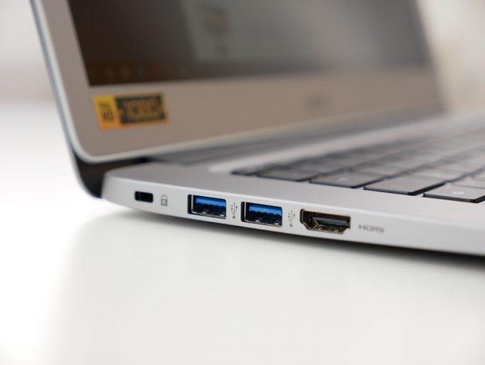 Acer Chromebook 14 Anschlüsse (Bild: ZDNet)