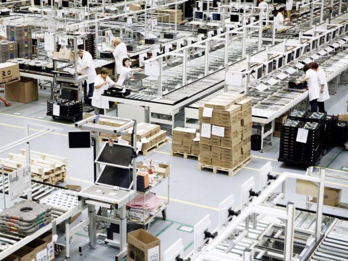 PC-Fertigung bei Fujitsu in Augsburg (Bild: Fujitsu)