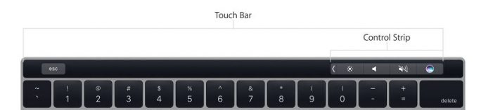 "MacBook Pro 13"" 2016: Touch Bar (Bild: Apple)"